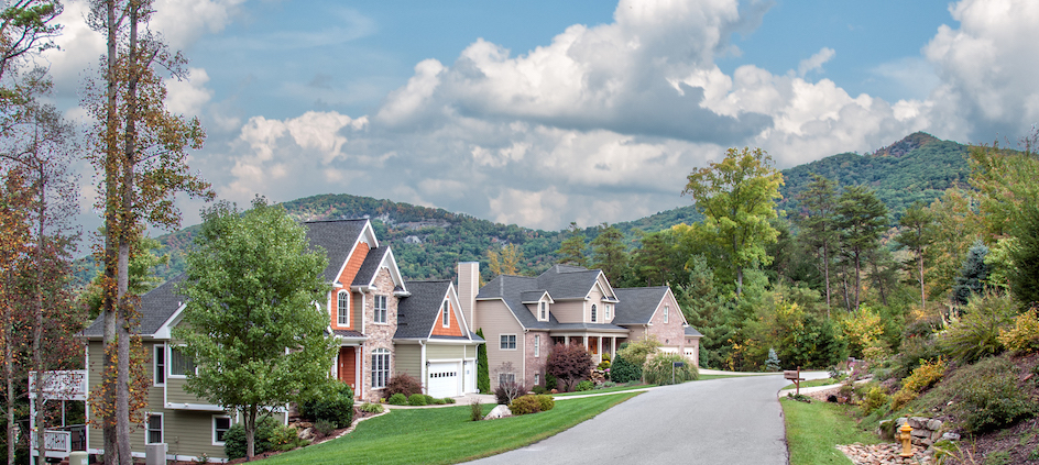 Homes In Beautiful Asheville Village Park
