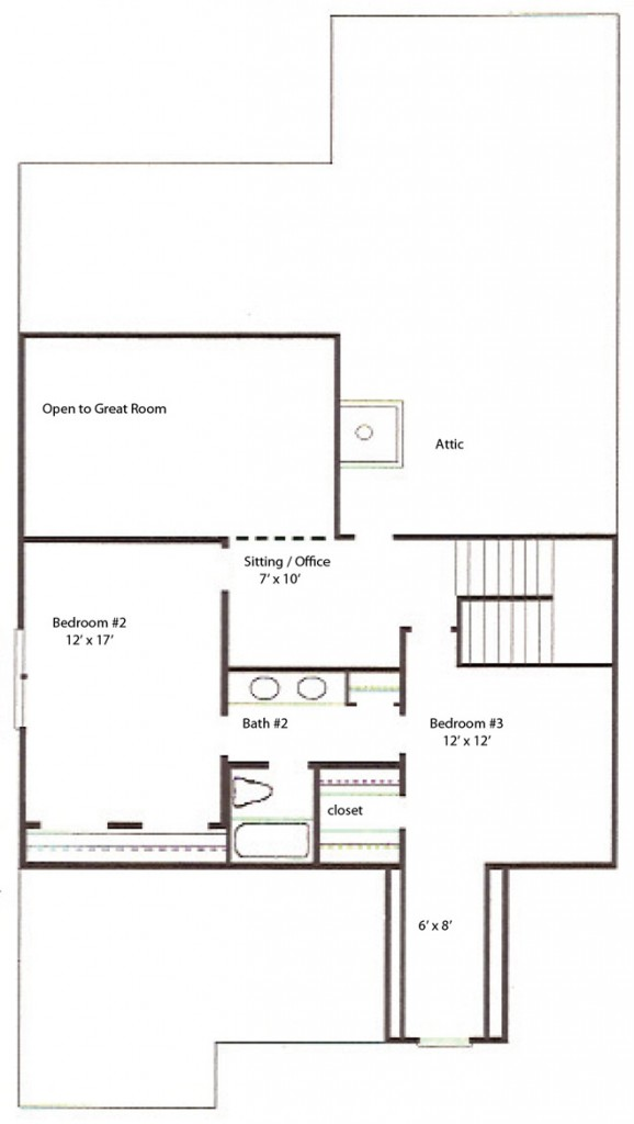 Townhome - Second Level